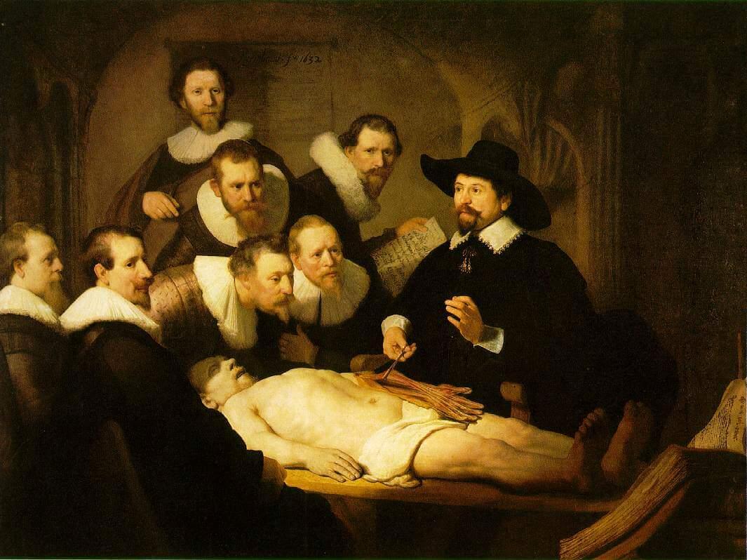 Lekcja Anatomii Doktora Tulpa Wwwkaczmarskiartpl